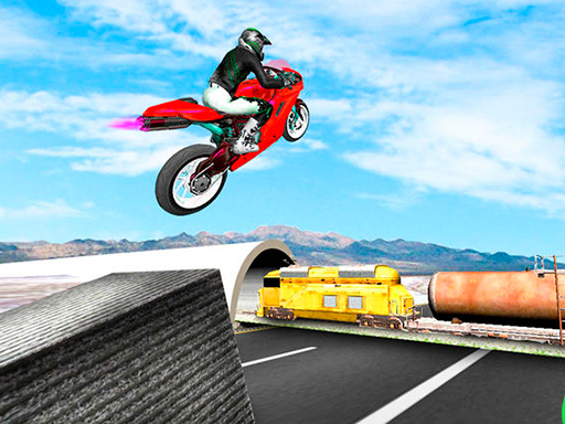 Trail Bike Vs Train Race thumbnail