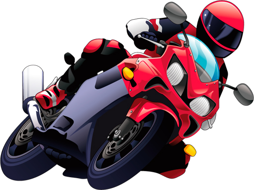Cartoon Motorcycles Puzzle thumbnail