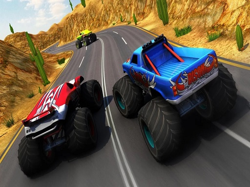 Xtreme Monster Truck & Offroad Fun Game thumbnail