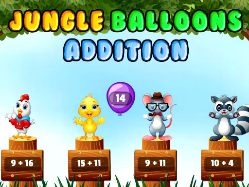 Jungle Balloons Addition thumbnail
