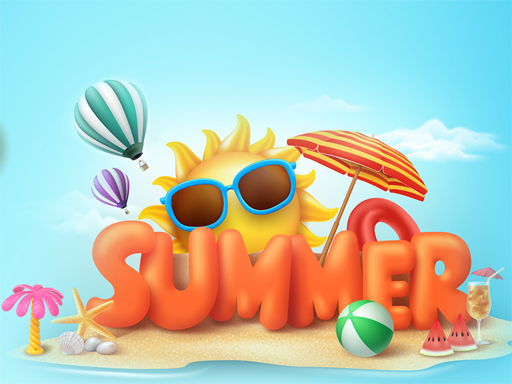 Happy Summer Jigsaw Puzzle thumbnail
