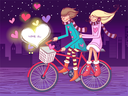 Thumbnail of Love is Sweet Valentine 2 Puzzle