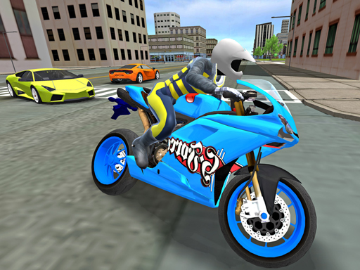 Thumbnail of Sports bike simulator Drift 3D