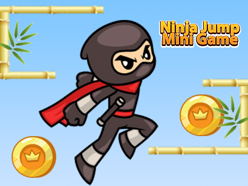 Thumbnail of Ninja Jump Mini Game
