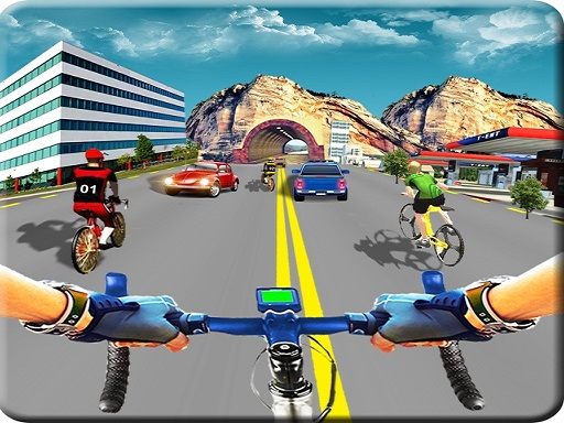 Thumbnail for Real Bike Cycle Racing Game 3D