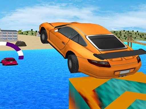 Water surfing Car Game thumbnail