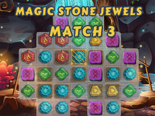 Magic Stone Jewels Match 3 thumbnail