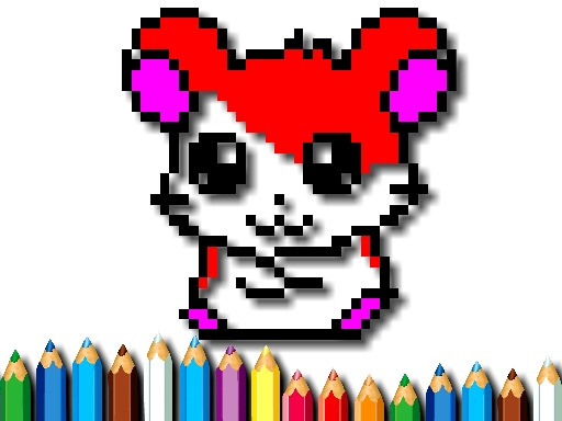 Thumbnail of Pixel Coloring Time