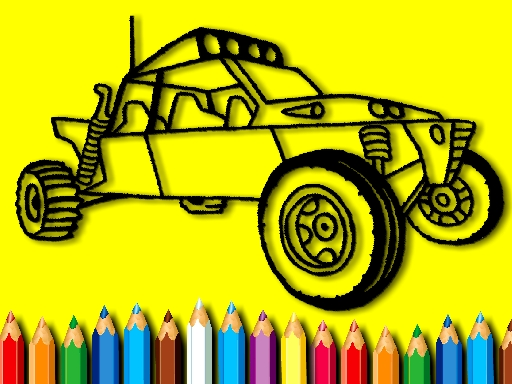 BTS Rally Car Coloring Book thumbnail