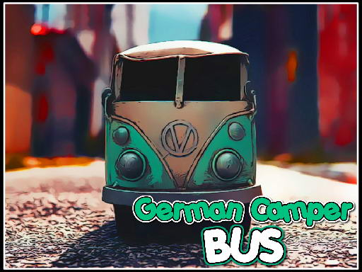German Camper Bus thumbnail