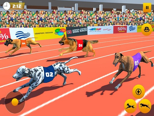 Thumbnail of Dog Race Sim 2020: Dog Racing Games