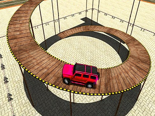 Impossible Tracks Prado Car Stunt Game thumbnail