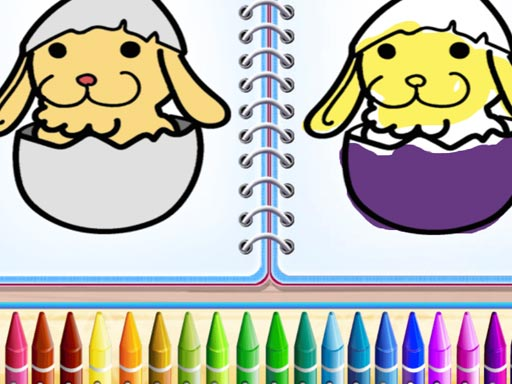 Coloring Bunny Book thumbnail