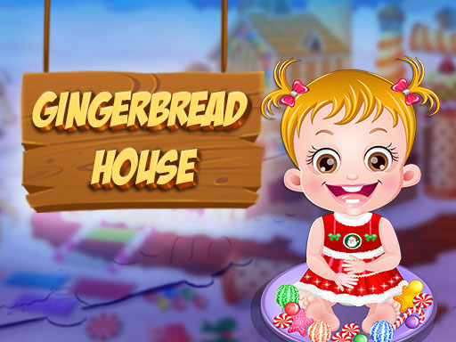 Baby Hazel Gingerbread House thumbnail