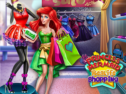 Thumbnail for Princess Mermaid Realife Shopping