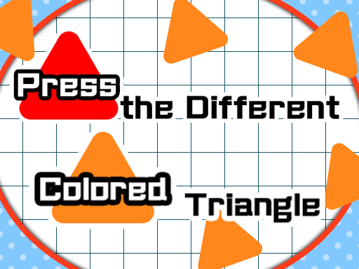 Press the different Colored Triangle thumbnail