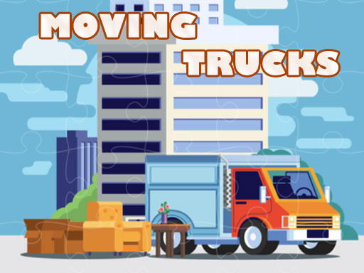 Moving Trucks Jigsaw thumbnail