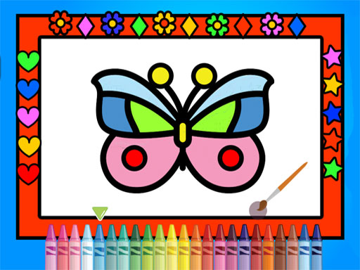 Color and Decorate Butterflies thumbnail