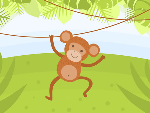 Thumbnail of Funny Monkeys Coloring