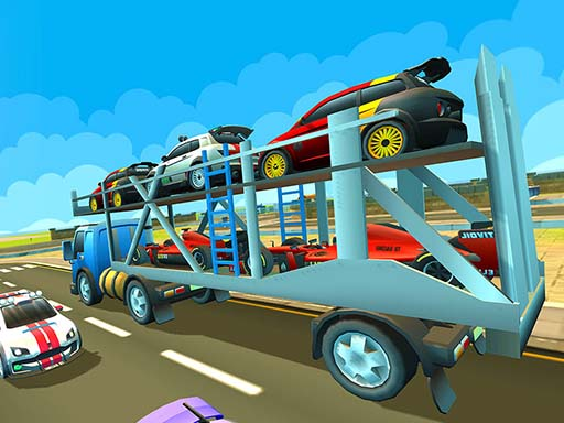 Cargo Euro Truck Drive Car Transport New thumbnail