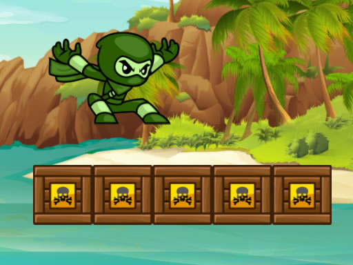 Thumbnail of Green Ninja Run
