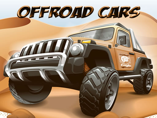 Thumbnail of Offroad Cars Jigsaw