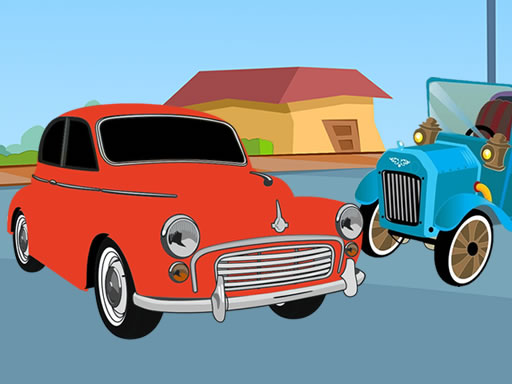 Old Timer Cars Coloring thumbnail