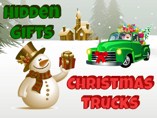 Christmas Trucks Hidden Gifts thumbnail