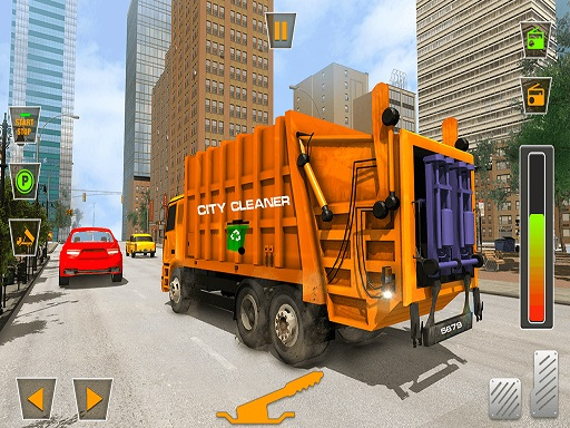US City Garbage Cleaner: Trash Truck 2020 thumbnail