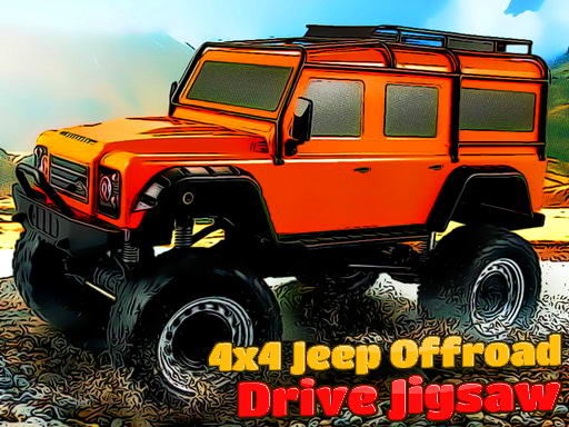 Thumbnail of 4x4 Jeep Offroad Drive Jigsaw