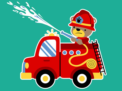 Animal Firetrucks Match 3 thumbnail