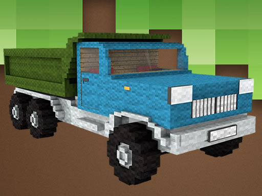 Blockcraft Truck Jigsaw thumbnail