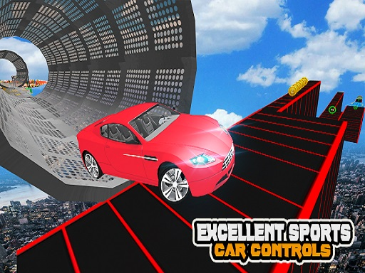 Mega Car Ramp Impossible Stunt Game thumbnail