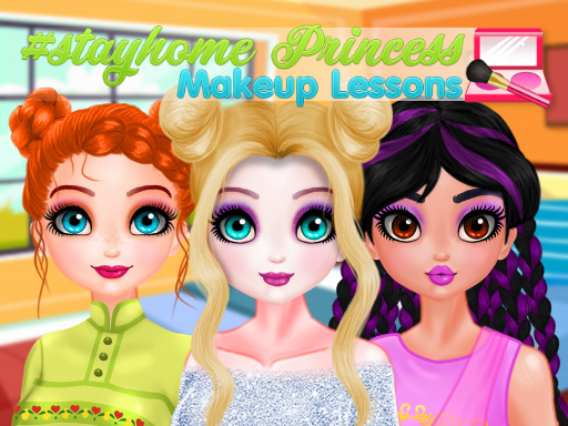 StayHome Princess Makeup Lessons thumbnail