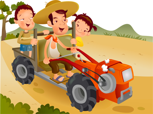 Thumbnail for Cartoon Tractor Puzzle