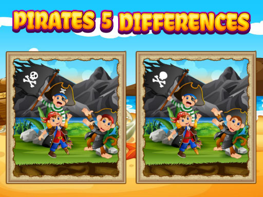 Pirates 5 Differences thumbnail