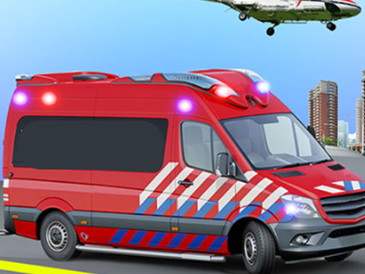 Ambulance Rescue Game Ambulance helicopter thumbnail