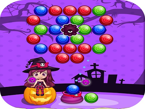 Thumbnail of Sweet Helloween Bubble Shooter Game