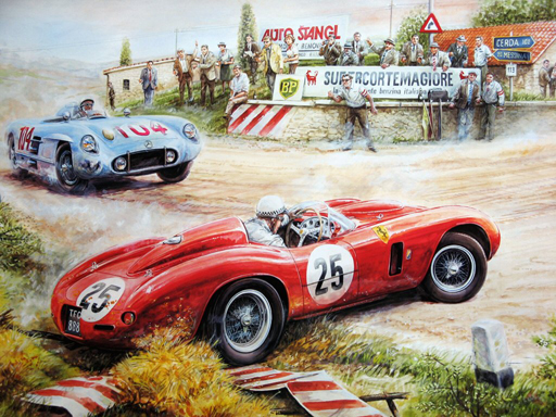Thumbnail for Painting Vintage Cars Jigsaw Puzzle