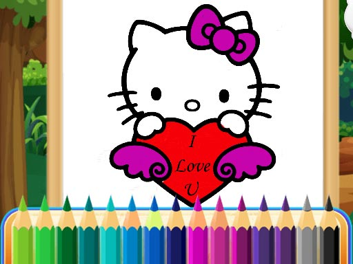 Coloring Kitty thumbnail