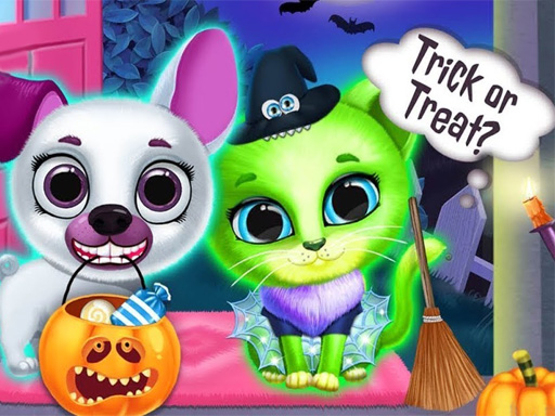 Thumbnail of Scary Makeover Halloween Pet Salon