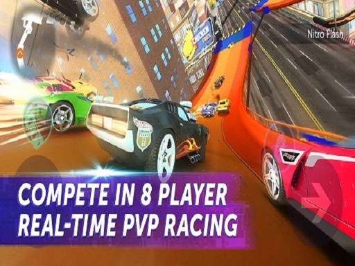 Thumbnail of Marvelous Hot Wheel Car Racing Tour Game