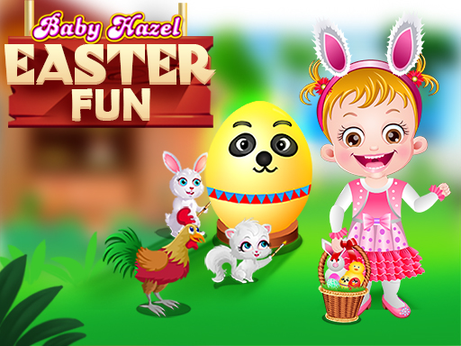 Thumbnail of Baby Hazel Easter Fun