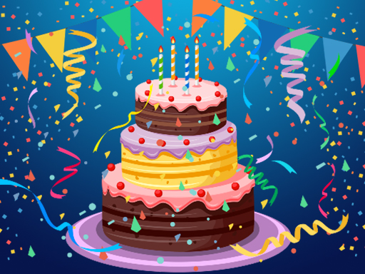 Thumbnail of Birthday Cake Puzzle