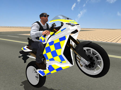 Super Stunt Police Bike Simulator 3D thumbnail