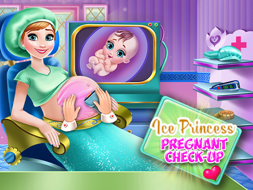 Thumbnail of Ice Princess Pregnant Check Up