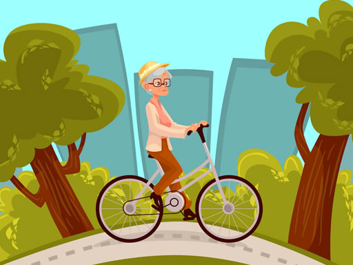 Happy Bike Riding Jigsaw thumbnail
