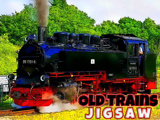 Old Trains Jigsaw thumbnail