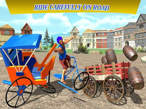 Thumbnail of City Cycle Rickshaw Simulator 2020