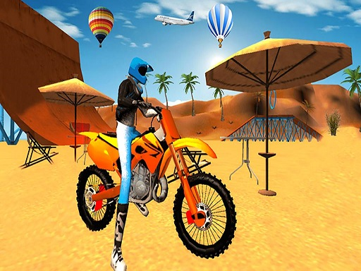 Motocross Beach Game : Bike Stunt Racing thumbnail